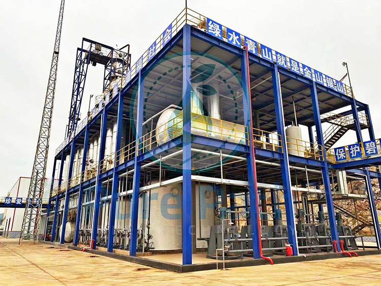 used engine oil recycling machine to diesel